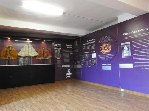Sala temática de San Saturio