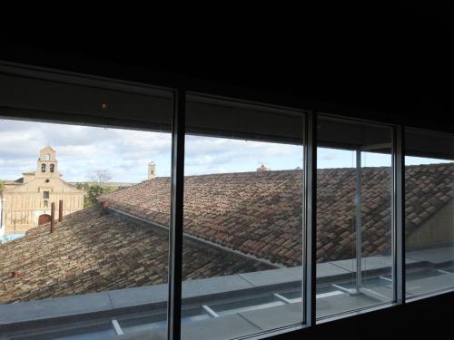 Vista de Mayorga desde el Museo