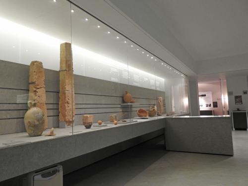 Vista de la sala I, 'La eternidad a través del Fuego. La muerte en el período fenicio (625-525 a.C.)'