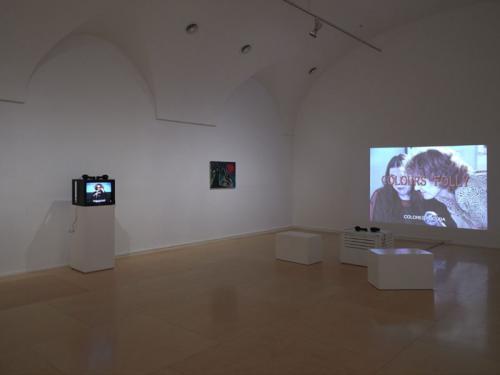 Vista de sala de la exposición Musas insumisas