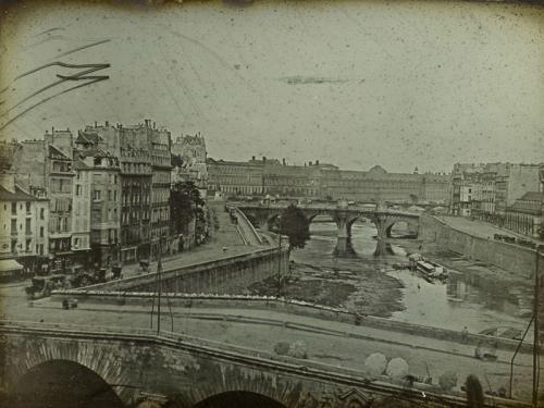 Vista del Sena, hacia 1839