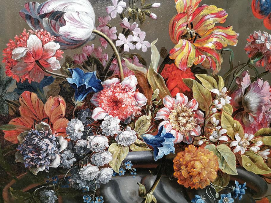 Imagen de flores pintadas