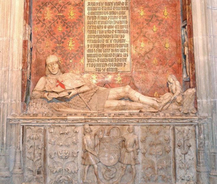 Imagen del Sepulcro del Doncel de Siguüenza