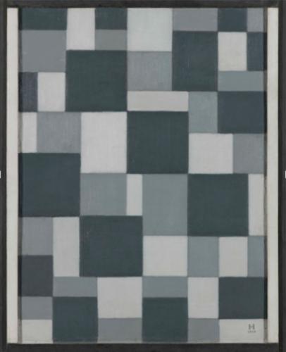 Composición en gris