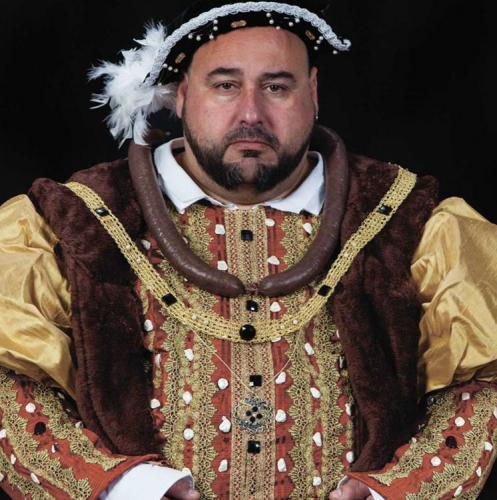Enrique VIII, de la serie 'Seis personajes…'